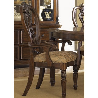 Messina Estates Cherry Splat Back Arm Chair