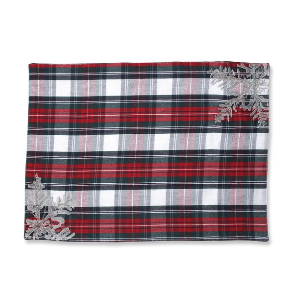 Pillow Perfect Stuart Placemat (Set of 2)