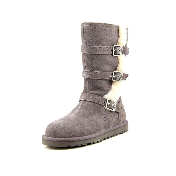 ffff681f7fb Shop Ugg Australia Girls' 'Maddi' Regular Suede Boots - Free ...