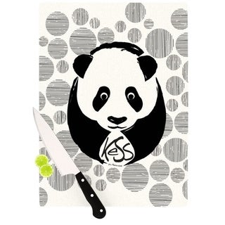 KESS InHouse KESS Original Panda Cutting Board