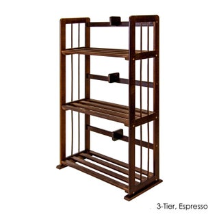 Porch & Den East Village Allen Natural Solid Pinewood Bookshelf (4 options available)