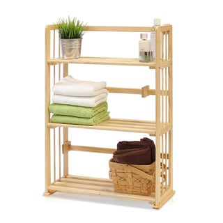 Furinno Natural Solid Pinewood Bookshelf
