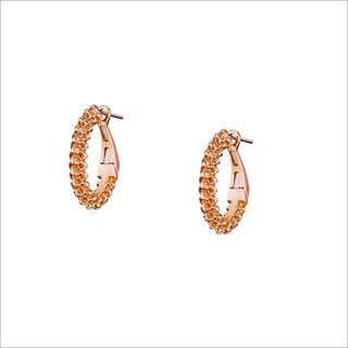 Di Modolo Hoop Earring in 18KT Rose Gold plated Sterling Silver