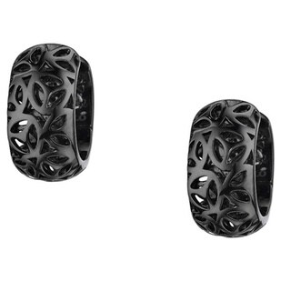 Di Modolo Sahara Black Rhodium-plated Stainless Steel Earrings