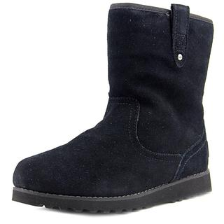 Ugg Australia Girls' Redwood Black Regular Suede Boots