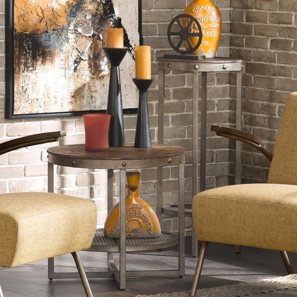 Pinebrook Coffee Table INK+IVY Sheridan Brown End Table - Free Shipping Today - Overstock.com ...