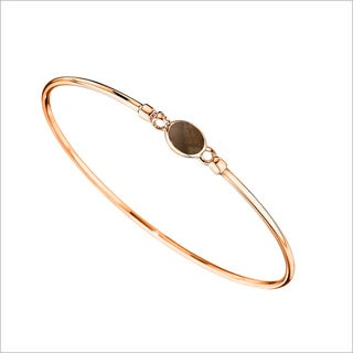 Di Modolo 18k Rose Goldplated Stainless Steel Brown Topaz Bangle Bracelet
