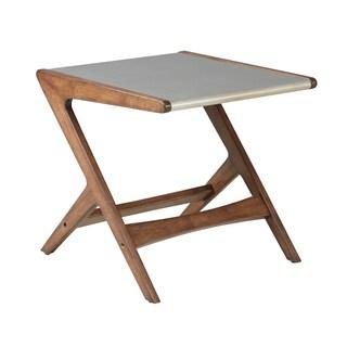 INK+IVY Rocket Grey Wooden End Table