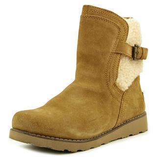 Ugg Australia Girl's 'Jayla' Black Suede Boots