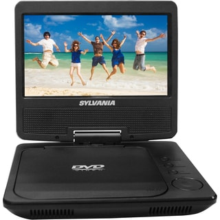 7-inch Sylvania SDVD7051 Swivel Screen Portable DVD Player w/Rechargable Battery