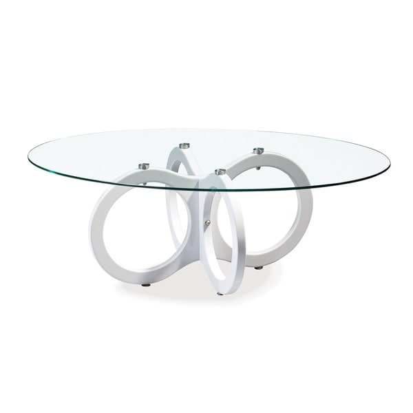 Overstock White Coffee Table.Global Furniture Glossy White Coffee Table