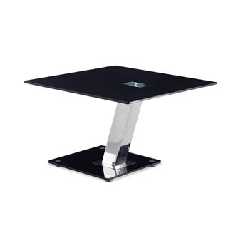 Global Furniture Black/Chrome End Table