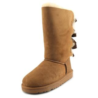 Ugg Australia Girl's 'Bailey Bow Tall' Regular Suede Boots