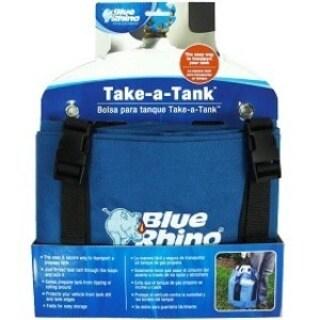 Mr. Bar.B.Q Take-A-Tank Carrying Case Gas Cylinder - Blue