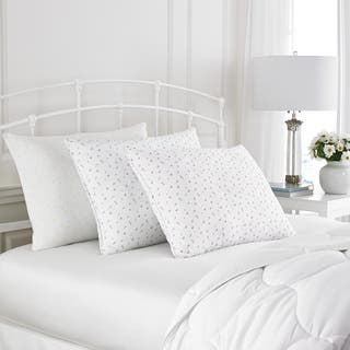 Laura Ashley Abbeville Down Alternative Bed Pillow|https://ak1.ostkcdn.com/images/products/13129858/P19859445.jpg?impolicy=medium