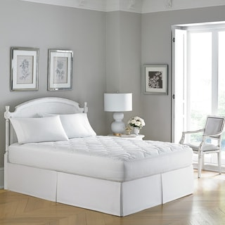 Laura Ashley 300 Thread Count Hypoallergenic Mattress Pad