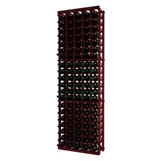 Wine Cellar Innovations Traditional Series 5-column Mahogany Wood Wine Rack