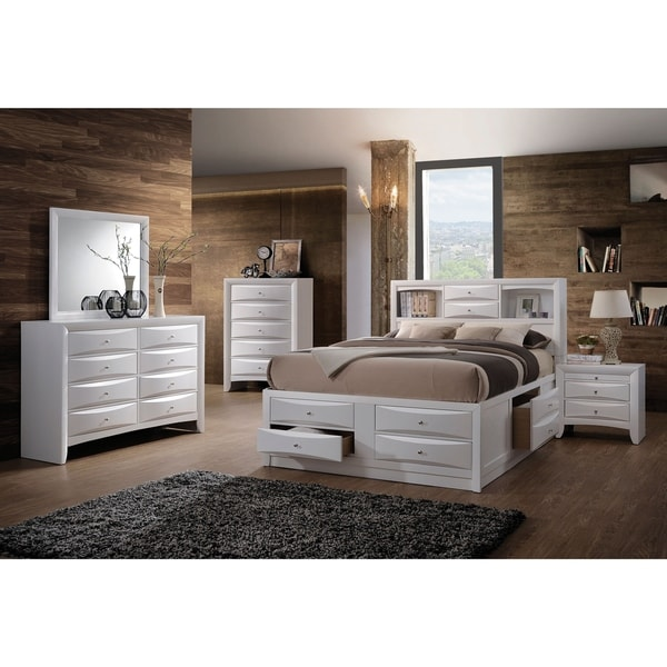 Shop Acme Furniture Ireland Bed With Storage, White