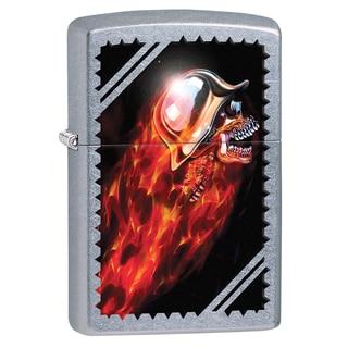 Zippo Flaming Skull Windproof Lighter