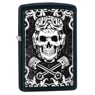 Zippo Skull and Wrenches Windproof Lighter