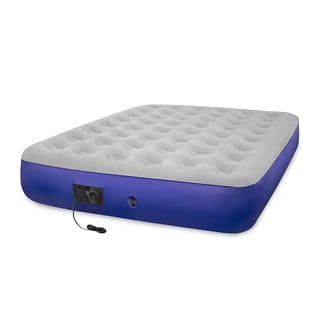 Classic Blue Self-inflating Twin-size Air Bed