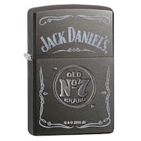 Zippo Stamped Old No 7 Logo Windproof Lighter
