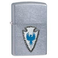Zippo Blue Arrowhead Emblem Windproof Lighter
