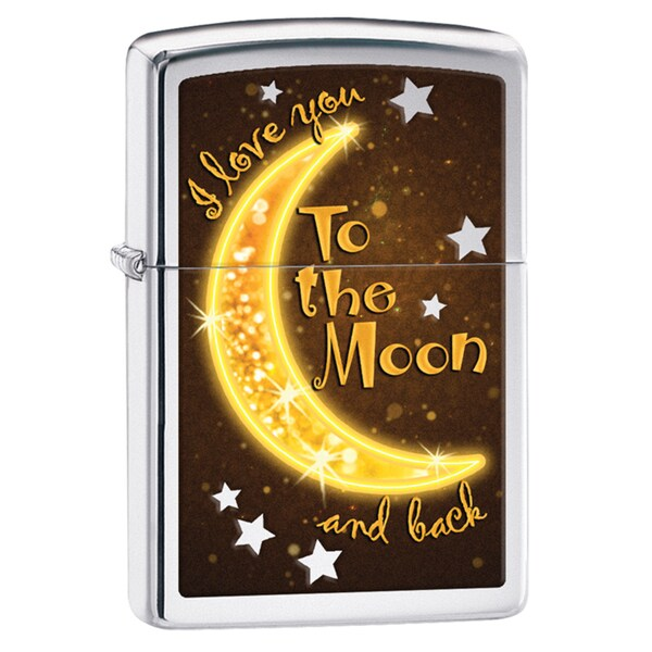 Zippo Love to the Moon Windproof Lighter