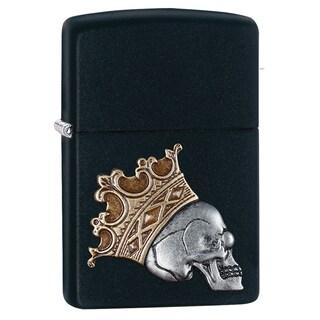 Zippo Skull King Emblem Windproof Lighter