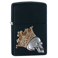 Zippo Skull King Emblem Windproof Lighter