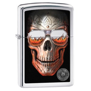 Zippo Anne Stokes Skull Windproof Lighter
