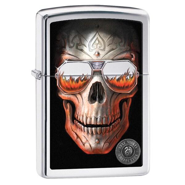 Zippo Anne Stokes Skull Windproof Lighter