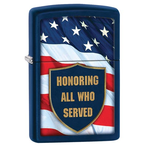 Zippo Honored Servicemen Windproof Lighter