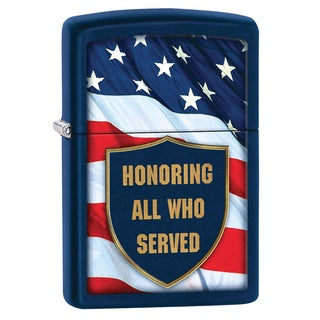 Zippo Honored Servicemen Windproof Lighter