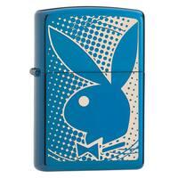 Zippo Playboy Blue Windproof Lighter