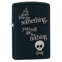 Zippo Live for Something Windproof Lighter