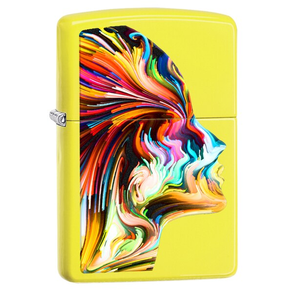 Zippo Artistic Head Windproof Lighter
