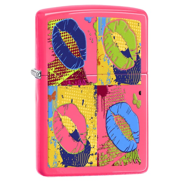 Zippo Lips Pop Art Windproof Lighter