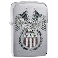 Zippo American Eagle Emblem Windproof Lighter