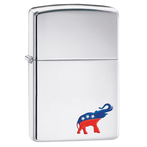 Zippo Republican Elephant Windproof Lighter