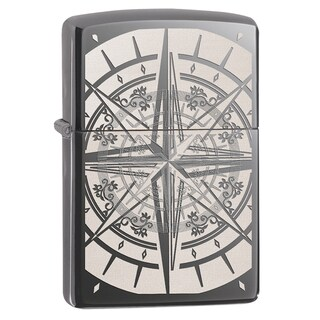 Zippo Compass Black Ice Windproof Lighter