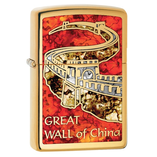 Zippo Great Wall of China Windproof Lighter