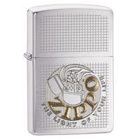 Zippo Light of Your Life Brushed Chrome Windproof Lighter