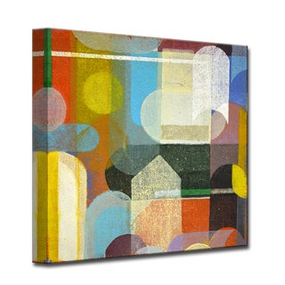 Calypso I' by Norman Wyatt, Jr Abstract Wrapped Canvas Wall Art