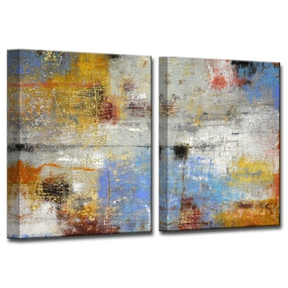 Ready2HangArt 'Search I/II' by Norman Wyatt, Jr 2 Piece Canvas Art Set