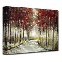 Ready2HangArt 'Autumn Morning Drive' by Norman Wyatt, Jr Canvas Art