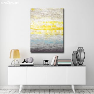 Brand New Day' by Norman Wyatt, Jr Abstract Wrapped Canvas Wall Art
