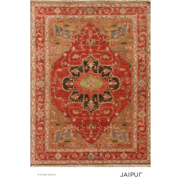 Hand Knotted Cayenne Classic Pattern Rug (4' X 6')
