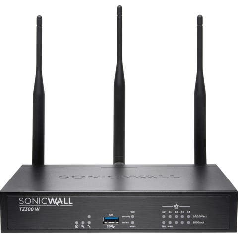 SonicWALL TZ300 Wireless-AC GEN5 Firewall Replacement With AGSS 1YR