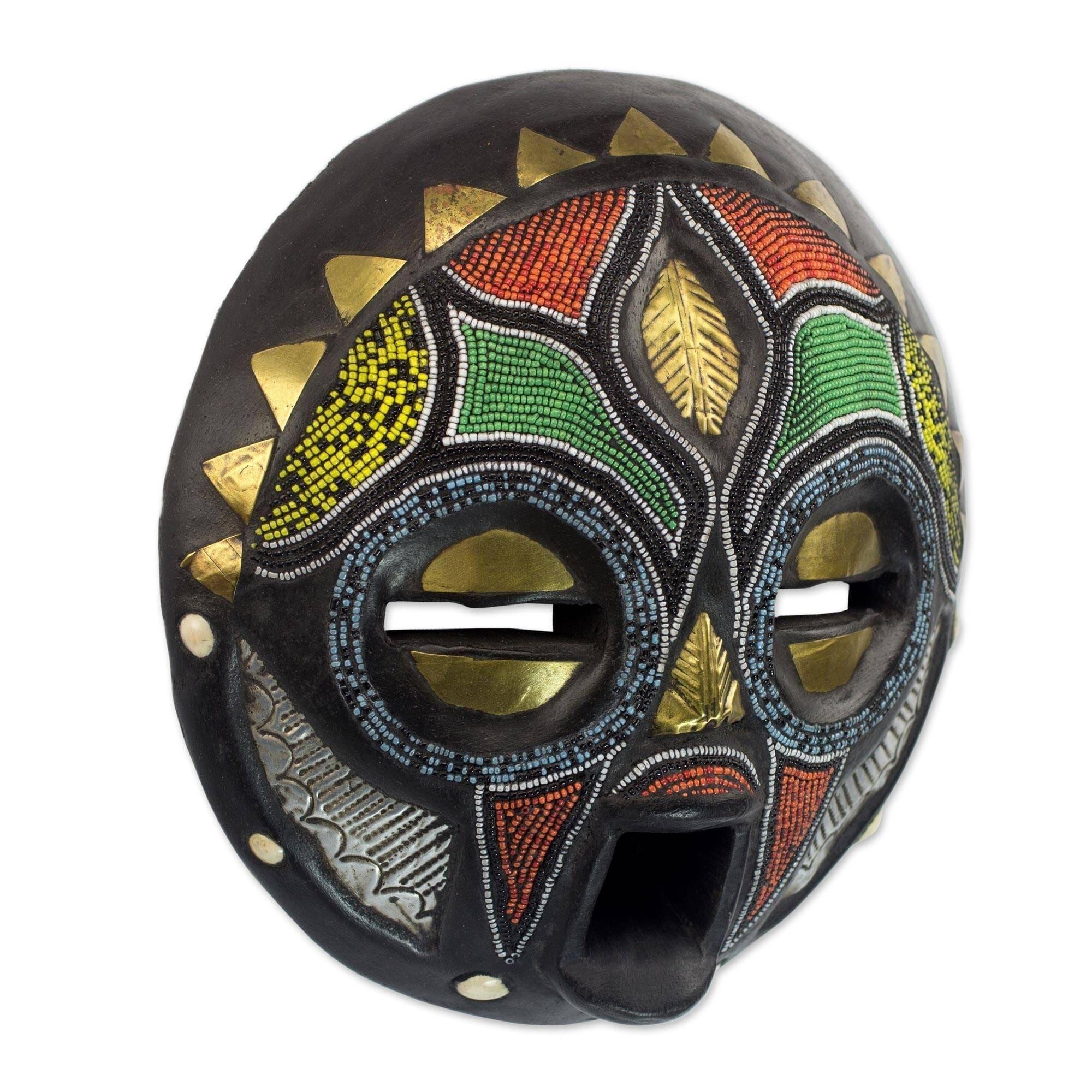Afričke maske - Page 4 Handmade-Sese-Wood-Girl-Grows-Up-African-Mask-Ghana-Blue-Green-Red-Yellow-a8f49307-33ae-4855-8286-e97396f551ad